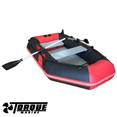 Bote Inflable 2.00 Piso Semirrigido Con Soporte para motor Hasta 6 hp Torque Marine