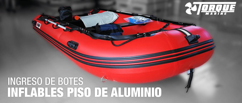 Botes Inflables Torque Marine Desaarmables Con Piso de Aluminio