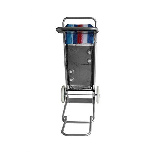 Carrito Playero Aluminio Mesa Porta Conservadora Y Reposeras