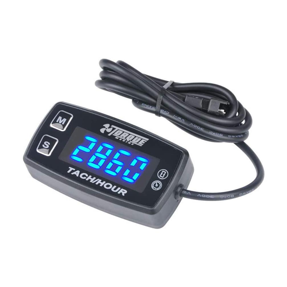 Tacometro Digital Rpm 12v Cuentahoras Led Moto Atv