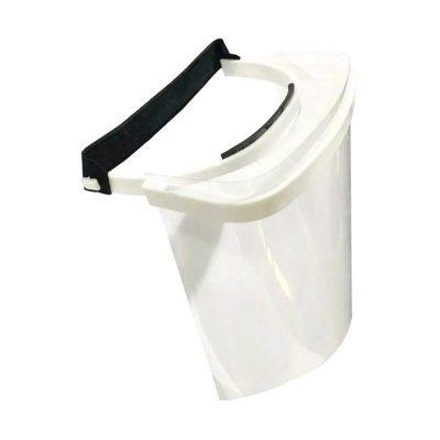 Mascara Protector Facial Sanitaria Reutilizable Alto Impacto Blanco